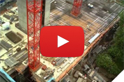 Click here to view time lapse video of concrete structure